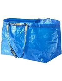 Ikea - juego de 2 Frakta azul - bolsa grande Ideal para la compra, para
