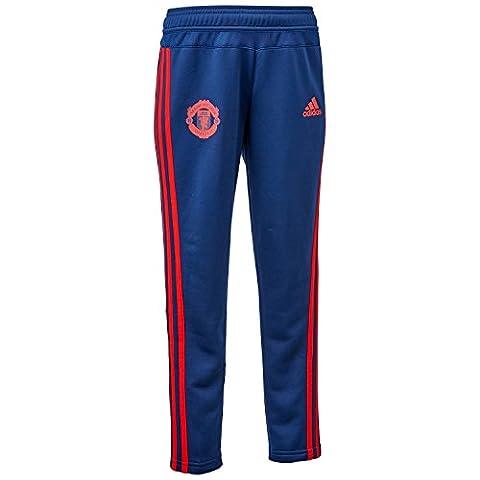 Pantalon Entraînement Manchester United Bleu Nuit Junior