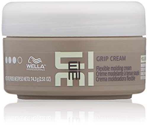 Wella Eimi Grip Cream Hold Level 3 Size 2.51oz / Create Distinctive Styles / Great on Long or Short Hair / Soft Texture Cream / Strong and Flexible Support by Wella -