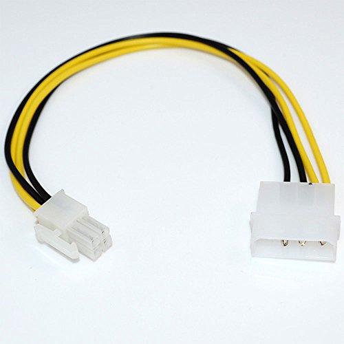 Konnektor Fuer Molex IDE 3 Pin Power Auf 4 Pin ATX Stecker Hauptplatine Kabel Dual-sync-kabel