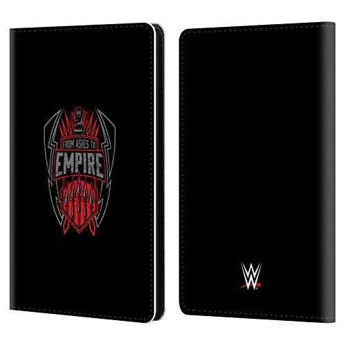 Head Case Designs Offizielle WWE from Ashes to Empire 2017 Römische Herrschaften Leder Brieftaschen Huelle kompatibel mit Kindle Paperwhite 1/2 / 3 - 2 Empire-sammlung