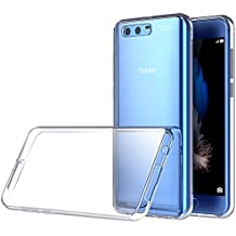 Honor 9 Hülle, Lanseed Crystal Clear Silikon Schutzhülle für Huawei Honor 9 Case TPU Bumper Cover Handyhülle Transparent