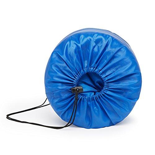 41LuS1xqIaL. SS500  - Premium 200 Warm Lightweight Envelope Sleeping Bag - For Traveling, Camping, Hiking, Indoor & Outdoor Activities