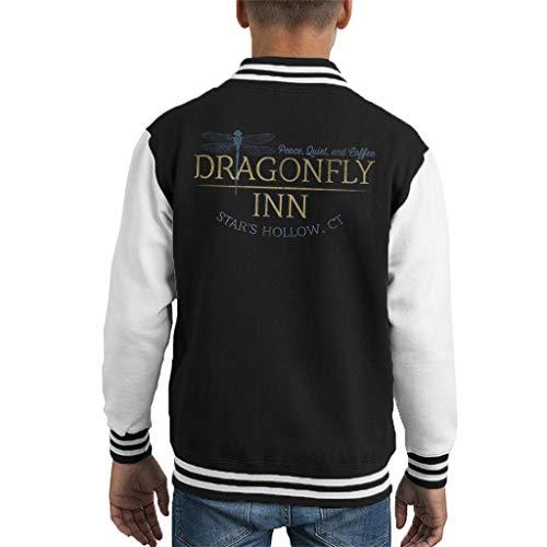 Cloud City 7 Gilmore Girls Inspired Dragonfly Inn Kid's Varsity Jacket -