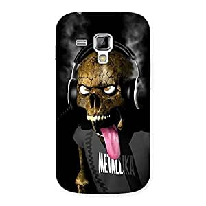 Gorgeous Metal Tounge Back Case Cover for Galaxy S Duos