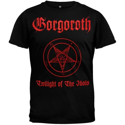 Old Glory Gorgoroth - Twilight Of The Idols T-Shirt X-Large Nero