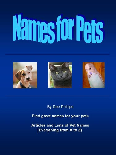 Names for Pets (English Edition)