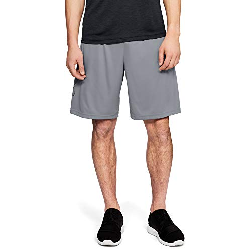 Under Armour Herren UA TECH GRAPHIC SHORT Kurze Hose, Grau (Steel ), L