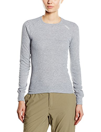 ODLO camiseta de manga larga para mujer