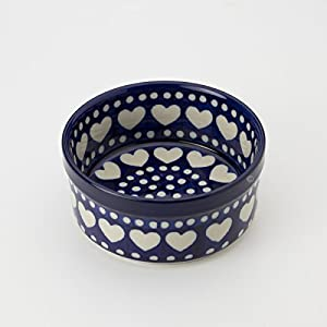 Polish Pottery 10cm Ramekin – Heart to Heart