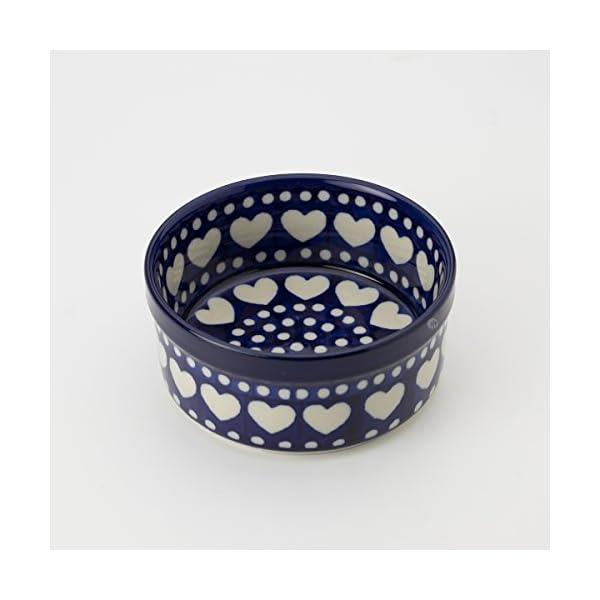 Polish Pottery 10cm Ramekin – Heart to Heart
