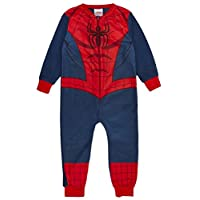 Kids Boys Fleece Character Onesie Pyjamas Pj