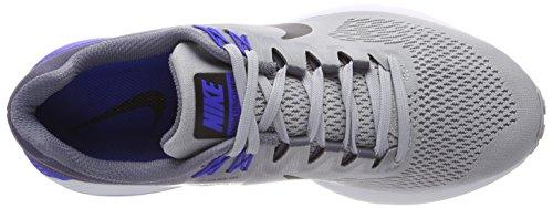 Nike Air Zoom Structure 21, Scarpe da Running Uomo Grigio (Wolf Grey/Black/Light Carbon/H 003)