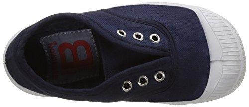 Bensimon Tennis Elly Enfant, Unisex-Kinder Hohe Sneakers Blau (Marineblau)