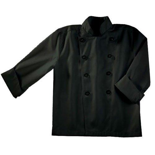 Chef Works Kid 's Chef Coat, Schwarz, schwarz, CWBJ-BLK (Chef Mäntel Von Chef Works)