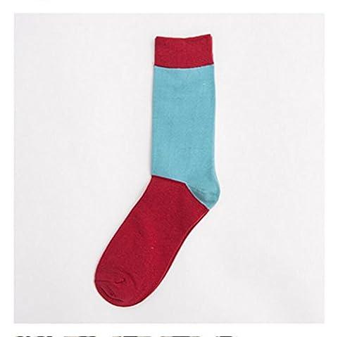 Sucastle Eté, coton, tube, chaussettes mâle, japonais, coréen, chaussettes homme,