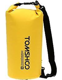 TOMSHOO 10L / 20L Outdoor Water Resistant Dry Bag Stausack Aufbewahrungstasche für Reisen Rafting Segeln Kajak Kanufahren Camping Snowboarding