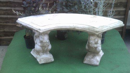 Discount Garden Statues Stunning Celtic Design Bench Seat Very Heavy Stone Cast BEN7 140KGS
