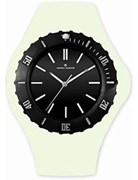 Alpha Saphir Unisex-Uhren Quarz  Analog 362K