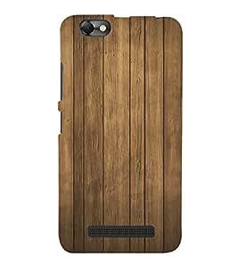 FUSON Wood Wall Background Wooden 3D Hard Polycarbonate Designer Back Case Cover for Lenovo Vibe C :: Lenovo A2020