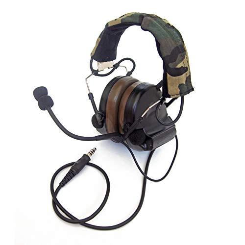 The Mercenary Company Elektronischer Gehörschutz und Headset, geschlossene Ohren, schwarz -