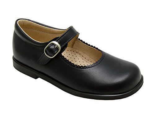 Di Angels abie, Navy Leather Shoes Mary Jane Size 1 Talla 33