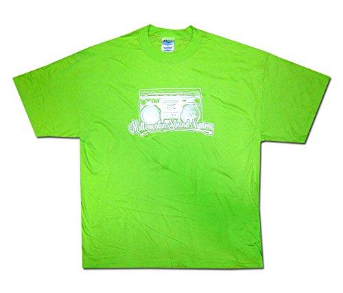 Millencolin * Sound System * on green * Shirt * XL * Maglietta Originale * LIQUIDAZIONE * ARTICOLO UNICO *