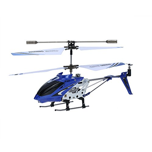 Syma 2nd Edition S107 S107G New Version Indoor Helicopter (Blue)