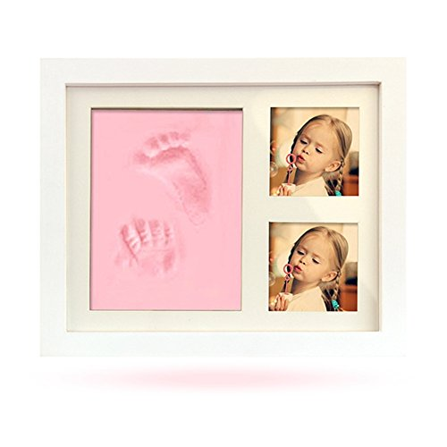 BabyIn Deluxe Casting Keepsake Kit bewahrt unbezahlbare Erinnerungen Baby Baby Geschenk | Baby Andenken | Impressum Kein Backen oder Mischen erforderlich. (Rosa) -
