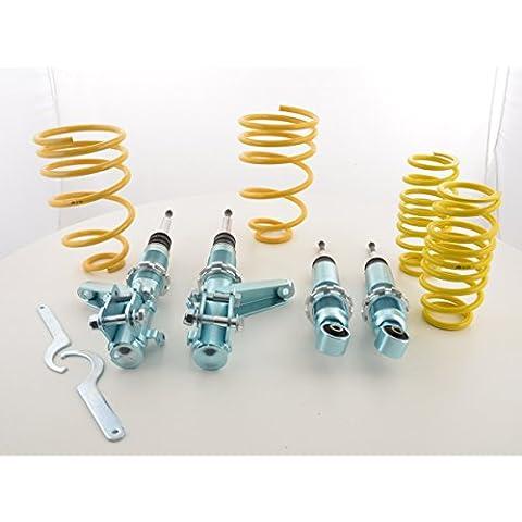 Ammortizzatore assetto sportivo FK per Honda Civic Tipo EM2, EP1, EP2, EP3, EP4, EU5, EU6, EU7, EU8, EU9 / ES4, ES5, ES6, ES7, ES8, ES9, EV1, Baujahr 01 -