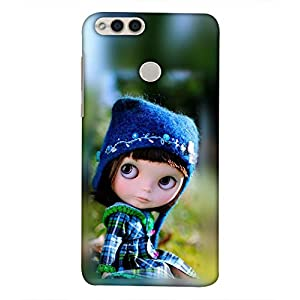 printtech Latest Designer Printed Mobile Back Cover for Huawei Honor 7X / honor 7x Versions: BND-L21 (Europe); BND-L22 (India); BND-L24 Mate SE (USA); BND-AL10, BND-TL10 (China) (Anime Cute Beautiful Angel Baby Girl)
