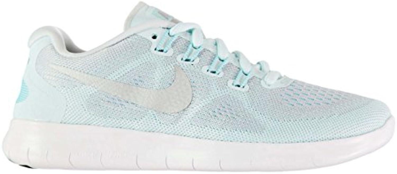 Official Shoes Nike Free Run 2 Laufschuhe blau/silber Run Jogging Damen Turnschuhe Sneakers