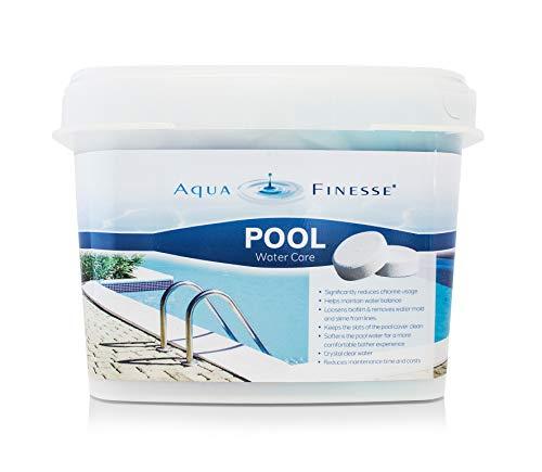 POWERHAUS24 AquaFinesse Pool Wasserpflege Tabletten, 30 Stück
