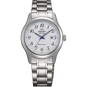 Orient Reloj Analógico para Mujer de Automático con Correa en Acero Inoxidable