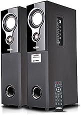 OSCAR OSC-16600BT - 2.0 Tower Bluetooth Speaker with Karaoke