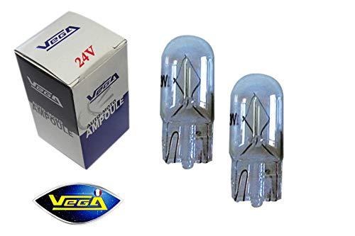 2 veilleuses Vega® W5W T10 Halogène\