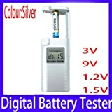 New Digital battery tester for 3V 9V 1.2...