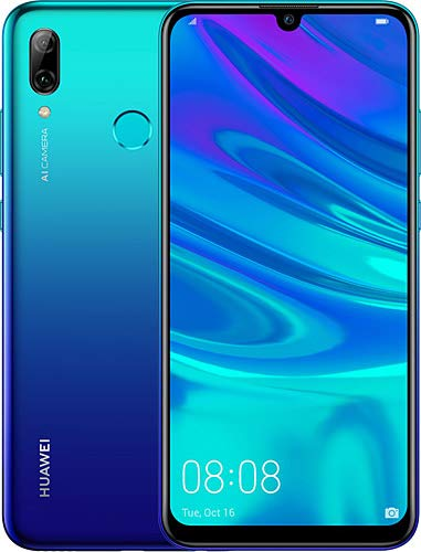 "Huawei P smart 2019 64GB Hybrid-SIM Aurora Blau EU [15,77cm (6,21"") LCD Display, Android 9.0, 13MP+2MP]"