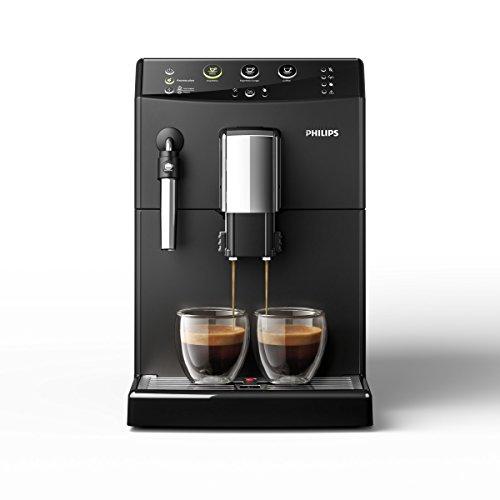 Philips 3000 Serie HD8827/01 Kaffeevollautomat (1850 W, klassischer Milchaufschäumer) schwarz - 2