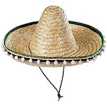 5ab0019f6db1e Sombrero mejicano adulto 55cm - Beige