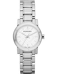 Burberry la ciudad mujer Plata Acero Inoxidable Reloj bu9200