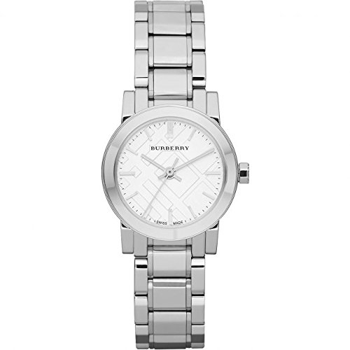 Burberry The City-Orologio da donna in acciaio inossidabile, BU9200