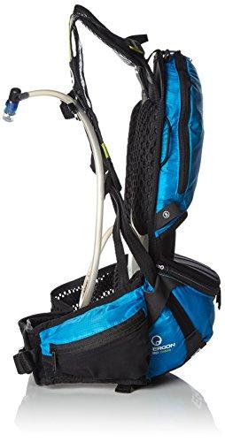 Ergon Fahrradrucksack mit Trinkfach BE1-S Enduro Schwarz/blau