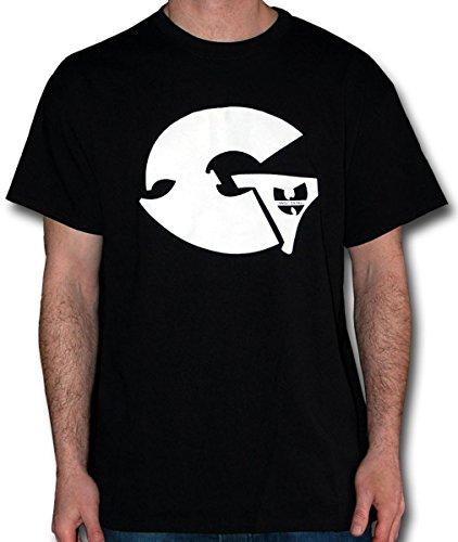 Wu Wear - Wu Tang Clan - Artist GZA T-Shirt - Wu-Tang Clan Black