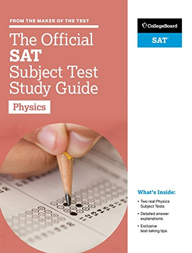 The Official SAT Subject Test Physics