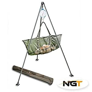 Tripod System For Weighing Carp / Coarse Fish Tackle by NGT