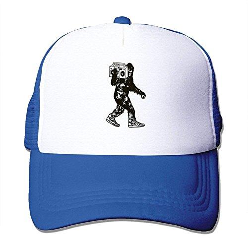 CrownLiny Bigfoot Ghetto Blaster Vintage Caps Unisex Sports Snapback Hats (Many Colors)