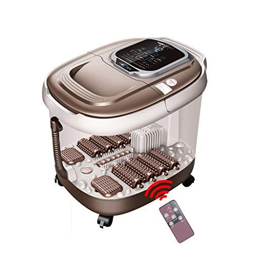 Chaud Massage Baril Baignoire Pieds de Pied électrique pédiluve Thermostat de Chauffage Automatique Maison Baignoire Pied ( Color : Self , Size : Telecontrol )