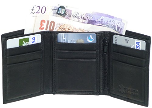 mens-quality-black-leather-trifold-wallet-slim-compact-with-9-c-card-slots-2-note-sections-id-window