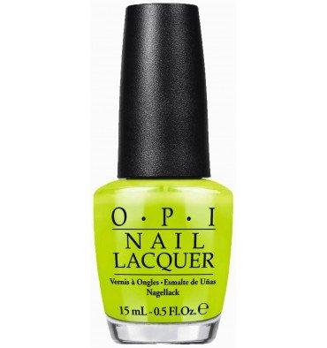 OPI Neon Collection 2014-Life Gave me Lemons NL N33 (Opi Nagellack Grün)